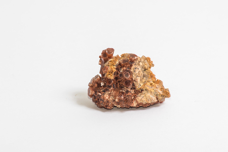 A small piece of the mineral known as Aragonite Stock Photo