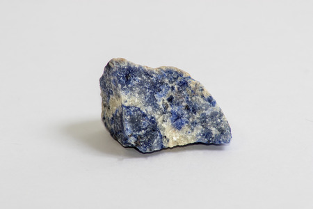 sodalite: A small chunk of the rock called Sodalite