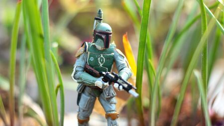 hunting figure rewards science fiction movie fiction character cult movie toy