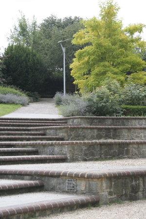 amphitheatre: Amphitheatre Steps in Maidstone