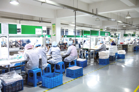 epoxy: Workers in the factory