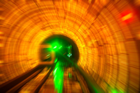 speeding: Speeding in the tunnel
