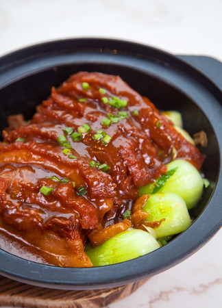 dongpo: stew  Pork with vegetable