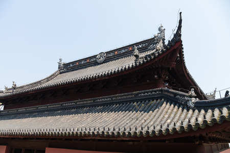 chinese dialect: Ancient architecture roof