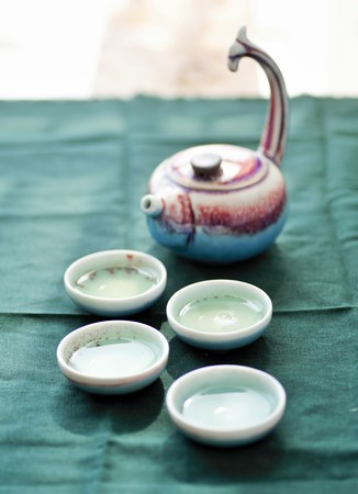 tea set: Ceramic tea set