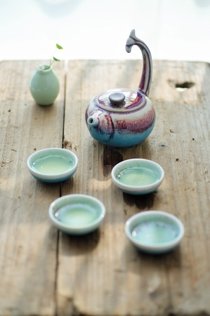 tea set: Creative ceramic tea set