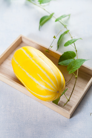 cantaloupe: Organic cantaloupe Stock Photo
