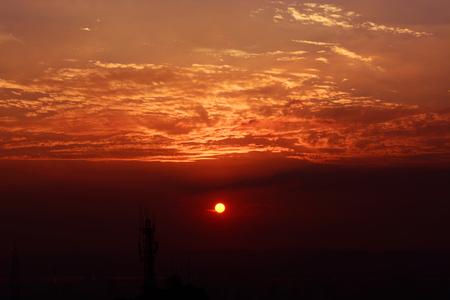 connotation: Sunset Stock Photo