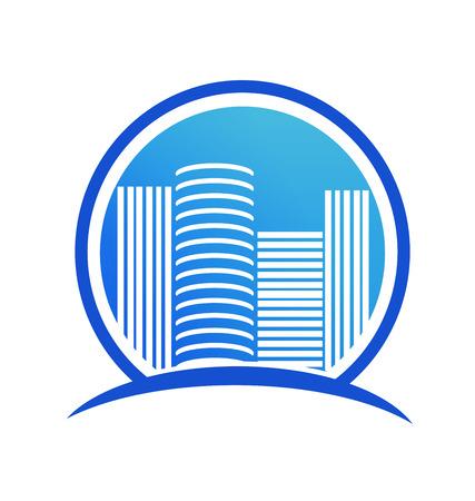 Bâtiments commerciaux de la ville, icône vector. Banque d'images - 96303914