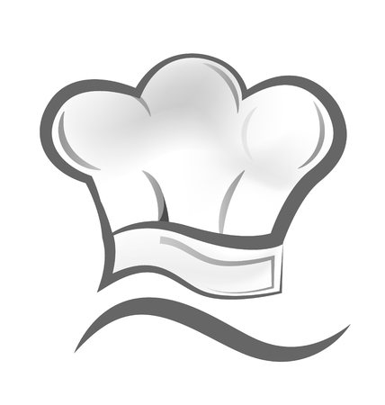 Chef cook hat vector icon