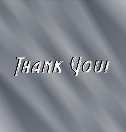 Thank you image illustration