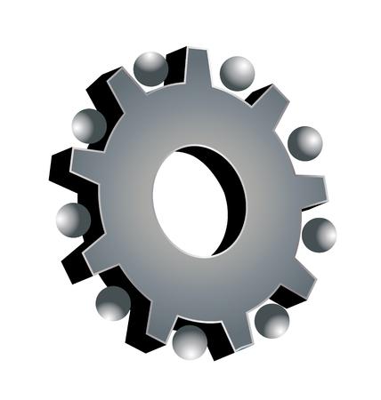 Gear setting icon