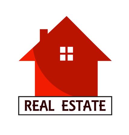 House for Real Estate business card vector design Illustration