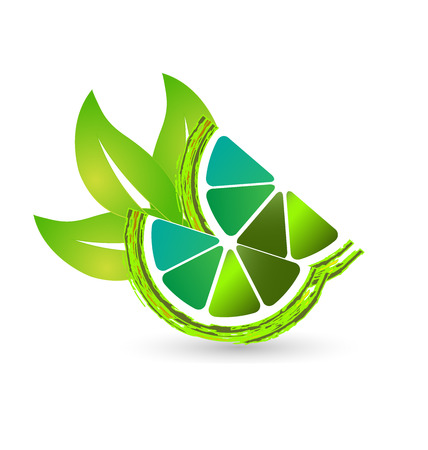 Green lime lemon icon
