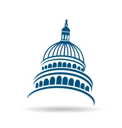 Icono de edificio del Capitolio de Estados Unidos