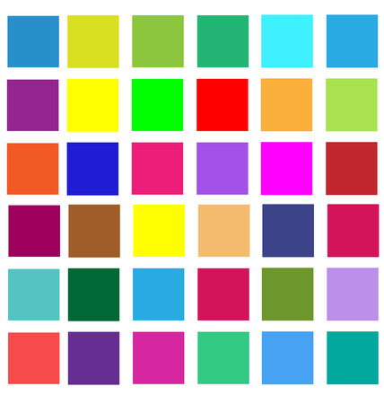 Abstract vivid colorful squares seamless pattern. Illustration