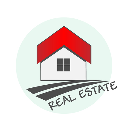 House real estate logo design