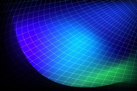 Futuristic abstract blue globe background Vector illustration.