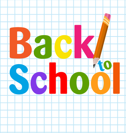 Back To School Poster Template Royalty Free Cliparts, Vectors, And ...