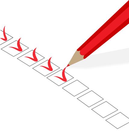 Success checklist vector symbol Ilustrace