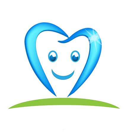 Dental tooth business vector icon illustration design.