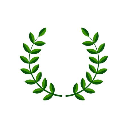 Laurel wreath vector symbol design illustration Illustration