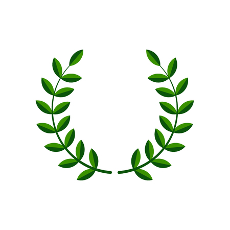 Laurel wreath vector symbol Stockfoto