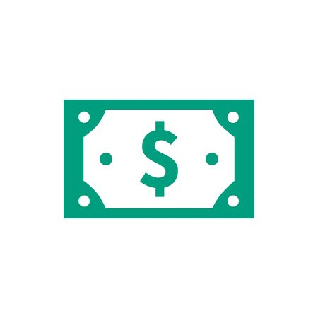 Money cash currency icon vector