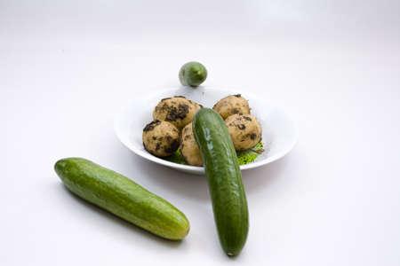 potatos: Cucumber and Potatos