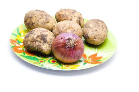 potatos: Potatos and Onion