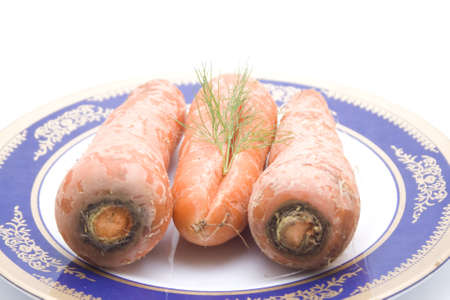 Fresh Orange Carrot for Cooking and Eating Stock Photo