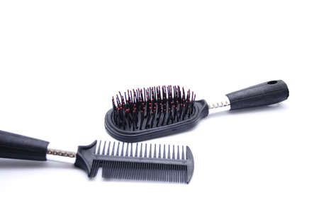 hairbrush: Black Hairbrush for Hairdressing