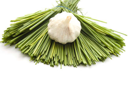 Chives with Garlic