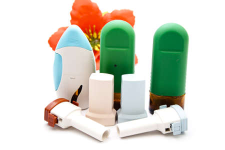 Asthma Inhaler with Nasal Spray photo
