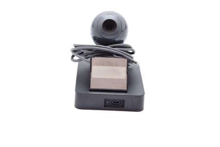 external hard disk drive: Webcam with External hard Drive Disk and Card Medium