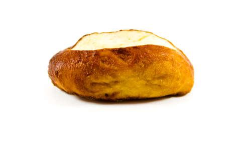 lye: Fresh Baked Lye Bread Roll