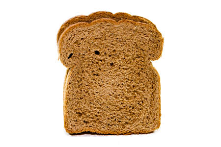 Fresh Baked Brown Toast Bread   Stock Photo