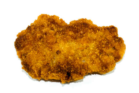 Fresh Breaded and Baked Slices from Beef  Stock Photo