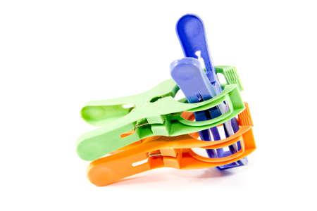 clothespins: Plastic Clothespins