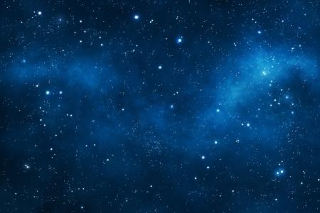 Fondo del espacio profundo con nebulosas Foto de archivo - 23765489