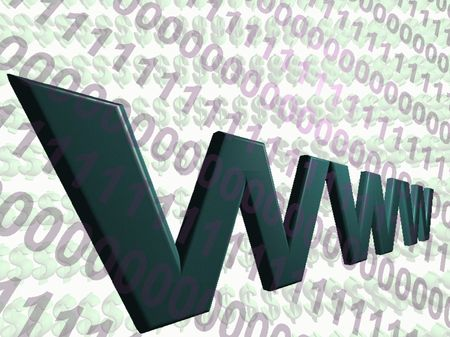 The World Wide Web Stock Photo