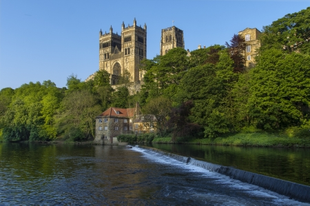 durham: The Cathedral Church of Christ, Blessed Mary the Virgin and St Cuthbert of Durham  usually known as Durham Cathedral  is a cathedral in the city of Durham, England, the seat of the Anglican Bishop of Durham  Durham Cathedral occupies a strategic position