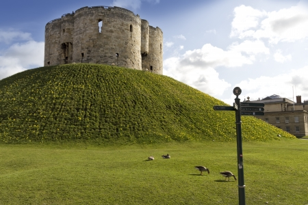 York Castle in the city of york,England