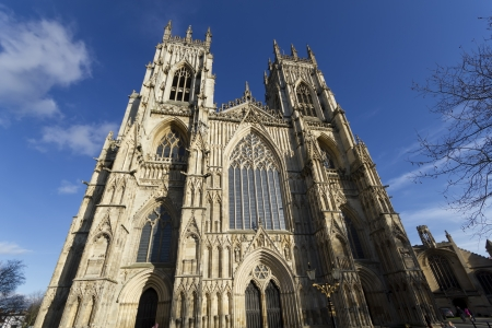 York Minster Cathedral in the city of York, North Yorkshire,England