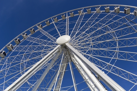 The York Ferris wheel ride attraction