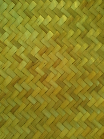 weave: Bamboo weaving texture