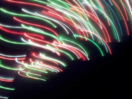 streak: Abstract light streak effect