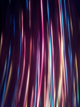 Abstract light streak effect