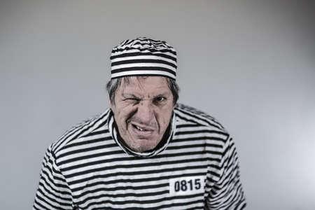 jailhouse: Prisoner, Gangster, Funny jail jailhouse Stock Photo