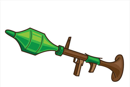 RPG Gun Illustration